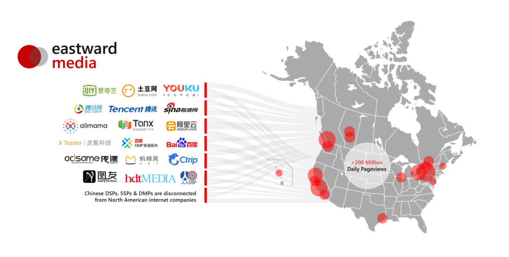 Chinese Audiences in North America retain media habits by Eastward Media